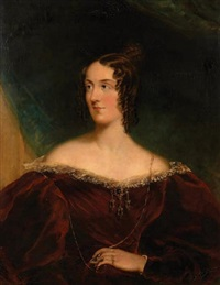 portrait de lady delamere by thomas lawrence