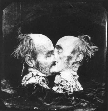 the kiss le baiser new mexico by joel peter witkin