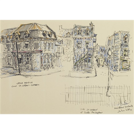 montreal nostalgie by john geoffrey caruthers little