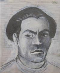 a man's portrait by alexander arefiev