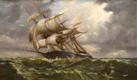 clipper in distress by william torgerson