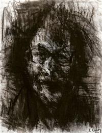 autoportrait by eugène leroy