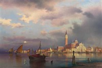 aftenstemning, venezia by sophus jacobsen