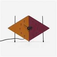 kite table clock (model 2217c) by george nelson & associates
