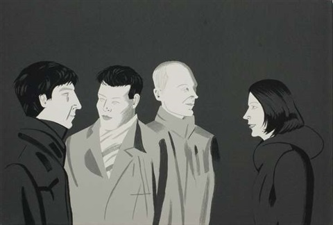 unfamiliar by alex katz