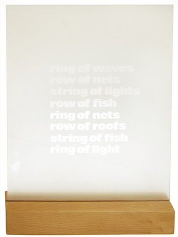 ring of waves by ian hamilton finlay