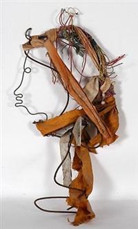 profile with orange scarf by lonnie sandmann' holley