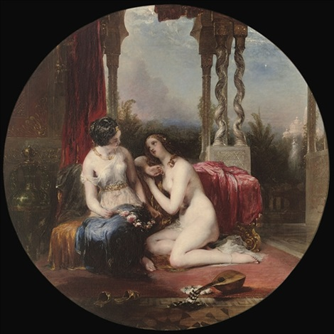 in the harem by william allan