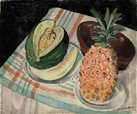 melon and pineapple by jane simone bussy