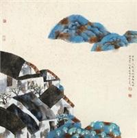 杏花疏影 by lin rongsheng