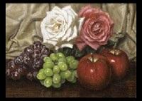 still life with rose by masahiko yamanaka