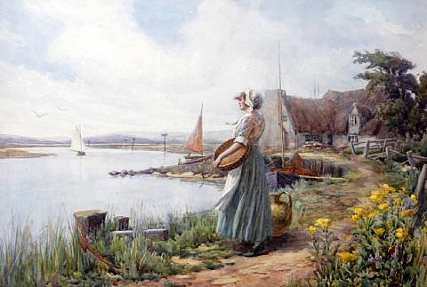 waiting for the ferry by william f ashburner