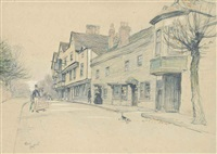 the king's head, chigwell by cecil charles windsor aldin