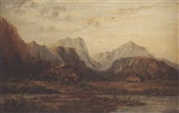 western landscape by alphonse j. gamotis