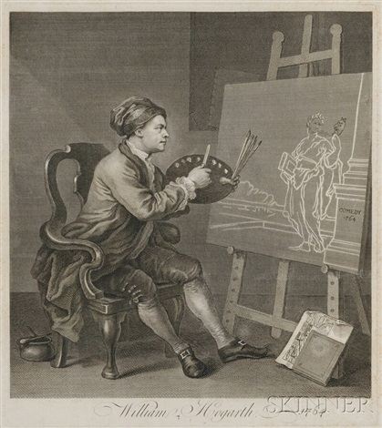 miscellaneous folio prints 24 works by william hogarth