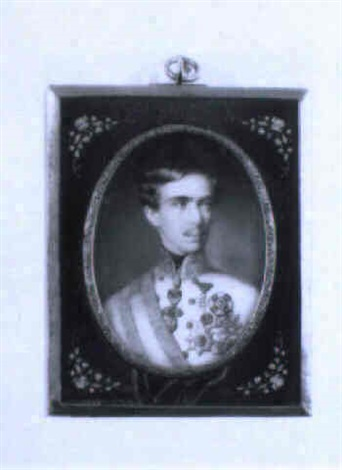 kaiser franz joseph 1830 1916 by georg raab