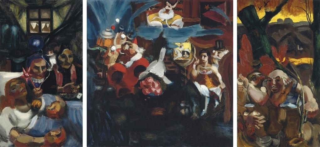 le songe du vagabond: naissance; songe; mort by henri le fauconnier