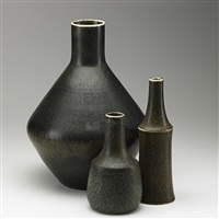 vases (3 works) by rörstrands porslinsfabriker (co.)