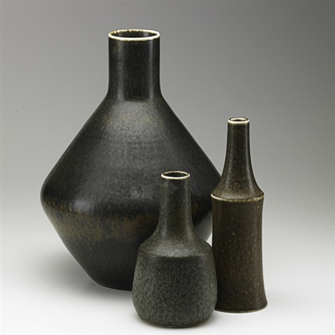 vases 3 works by rörstrands porslinsfabriker co