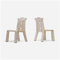 chippendale chairs, pair by robert venturi