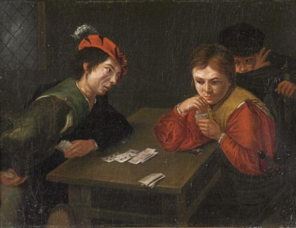 Die Falschspieler By Valentin De Boulogne