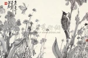 蝶和鸟 by zhou jingxin