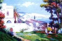 la villa abd-el-tif, alger by gustave lemaitre