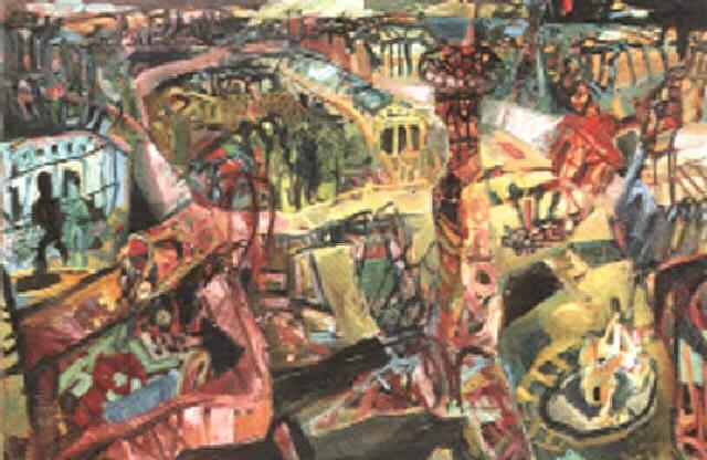stadtbild by werner liebmann