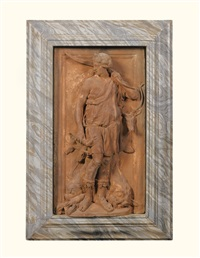 relief with diana the huntress by artus quellin the elder