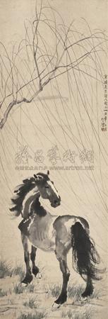 春风立马 horse by xu beihong
