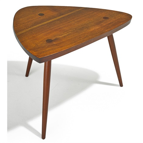 Triangular Side Table By Phillip Lloyd Powell