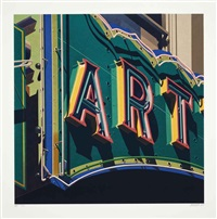 art (from american signs) by robert cottingham
