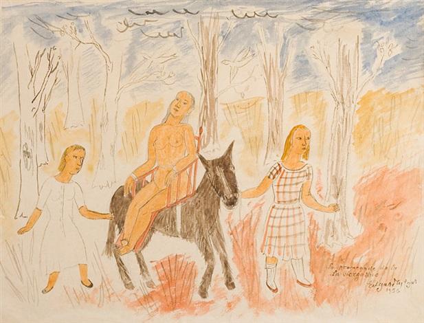 la promenade de la vierge nue by edgard tytgat