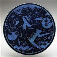 jazz plate by viktor schreckengost