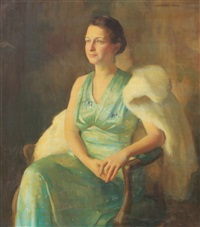 portrait of mrs. wason by marguerite stuber pearson
