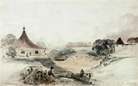 view of the artillery depot at woolwich by george bryant campion