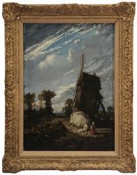 le moulin a vent by jules dupré
