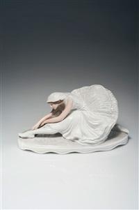 die tänzerin pawlowa als sterbender schwan by constantin holzer-defanti