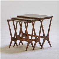 nesting tables (3 works) by poul heltborg
