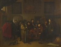 the auction by richard brakenburg