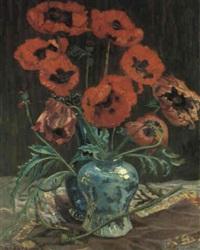 klatschmohn by martinus van andringa