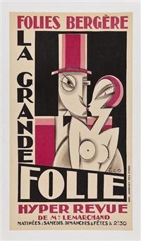 folies-bergere/la grande folie by maurice (pico) picauld