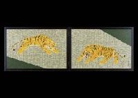 tiger (byobu) by kakutaro yamazaki