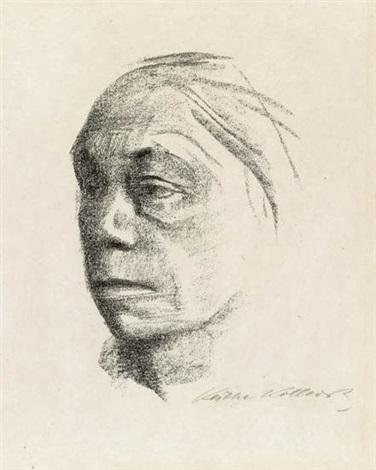 kleines selbstbildnis nach links not 1897 2 works by käthe kollwitz