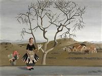 blumenverkäuferin by jean-pierre alaux