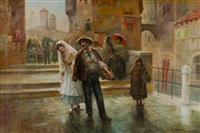 scene from venice by august stephan