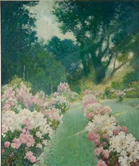 the flower garden by corwin knapp linson