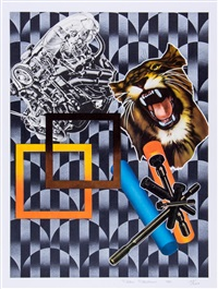 tiger and engine by peter phillips