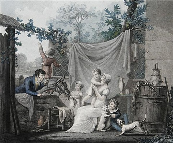 lheureuse famille by jean pierre marie jazet
