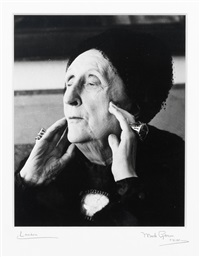 portrait of edith sitwell by mark gerson